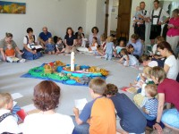 Kinderkirche im Pfarrhof Benediktbeuern