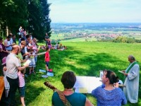Familienbergmesse auf dem Straßberg