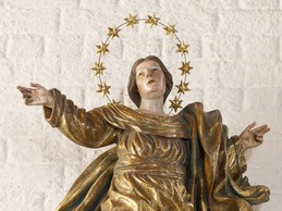 Maiandacht des Frauenbundes  an der Kapelle in Altjoch